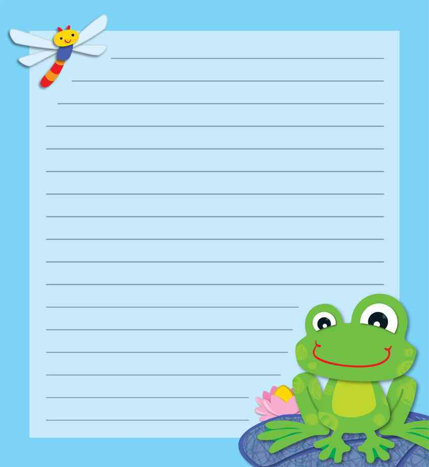 Funky Frog Notes Notepad By Carson-Dellosa Publishing Company, Inc. (COR)